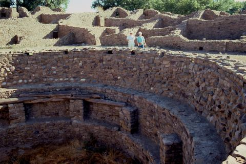 Kiva, Aztec Ruins National Monument, Aztec, New Mexico