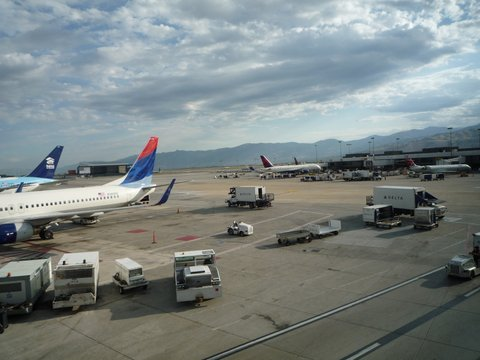Salt Lake City Airport, UT