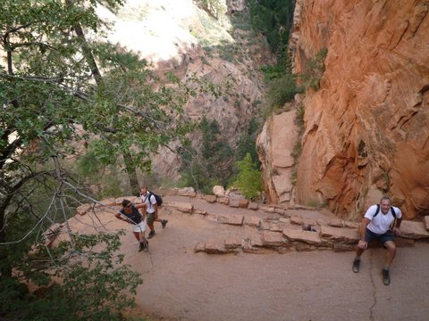 West Rim Trail, Zion Canyon National Park, UT
