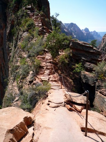 Angel's Landing Trail, Zion Canyon National Park, UT