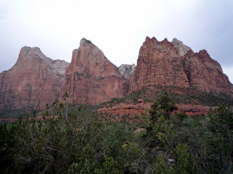 Three Patriarchs, Zion National Park, UT