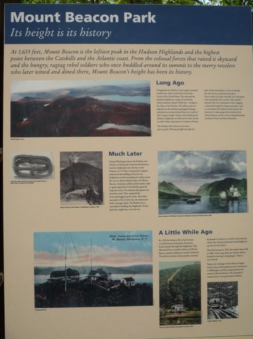 Poster, History of Mount Beacon Park, Beacon, NY