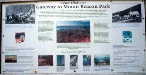 Poster, Gateway to Mount Beacon Park, Beacon, NY