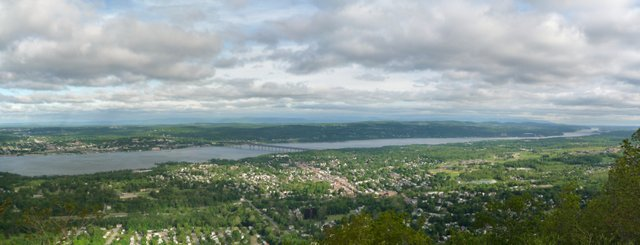 Newburgh-Beacon Bridge, from Mt. Beacon, NY