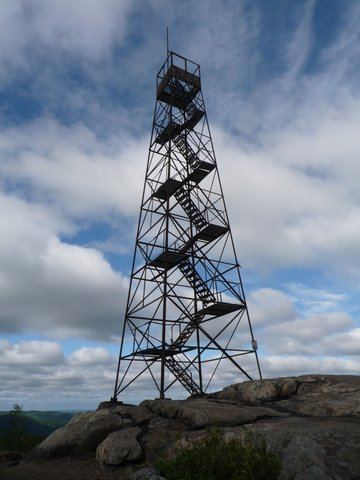 Fire tower on South Beacon Mtn., Hudson Highlands State Park, NY