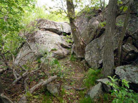 Scramble, Wilkinson Memorial Trail, Hudson Highlands State Park, NY