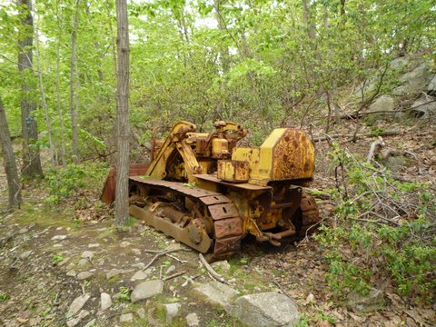 Dozer Junction, Fishkill Ridge, NY