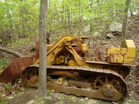 Abandoned Caterpillar D2