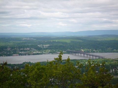 Newburgh-Beacon Bridge, from Fishkill Ridge Trail, NY
