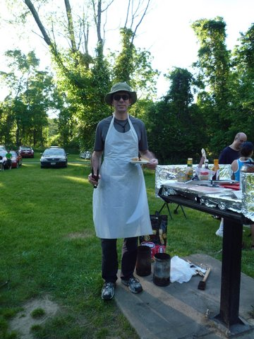 Grilling at Allaire State Park, NJ
