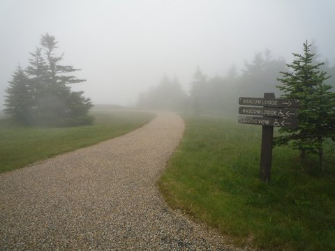 Directional signs, Mt. Greylock, MA