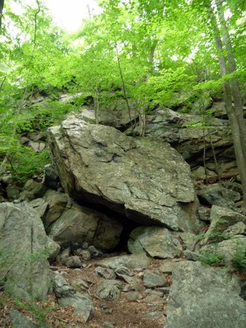 Leatherman's Cave, Ward Pound Ridge Reservation, Westchester County, NY