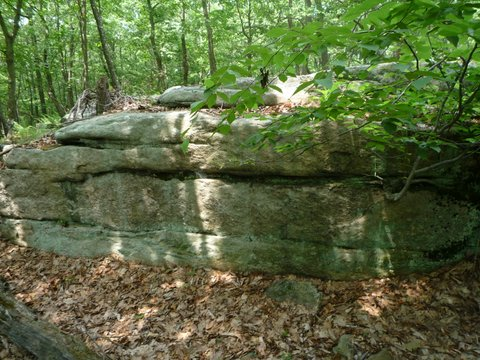 Dancing Rock, Ward Pound Ridge Reservation, Westchester County, NY