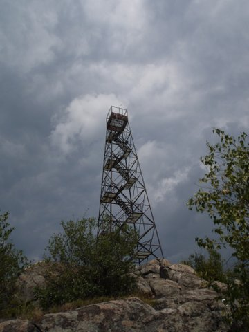 Fire tower, South Beacon Mountain, Hudson Highlands State Park, NY