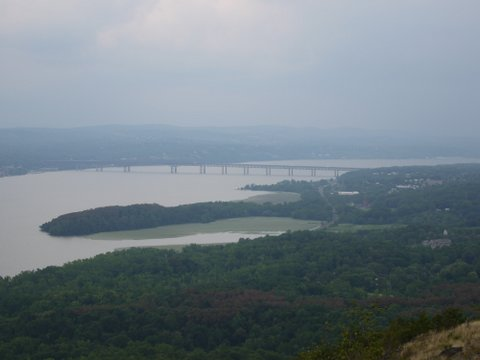 Denning's Point, Beacon Point Park and Riverfront Park, and the Newburgh-Beacon Bridge, NY