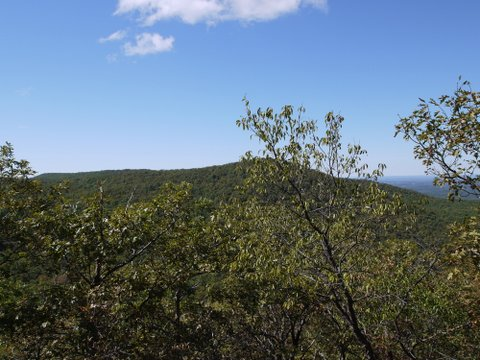 View from Mt. Misery, Black Rock Forest, Orange County, New York