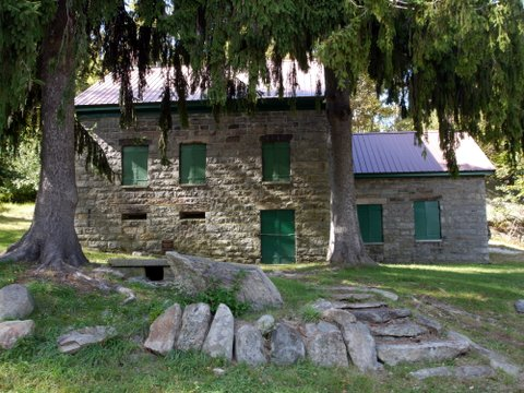 Chatfield Stone House, Black Rock Forest, Orange County, New York