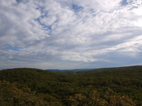 View from Hill of Pines, Black Rock Forest, Orange County, New York