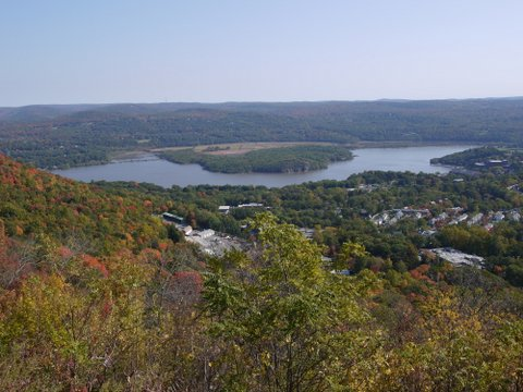 Hudson River from Highway 9W Overlook, Orange County, NY