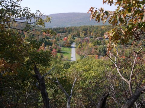 Scenic View from Mine Hill Trail, Black Rock Forest, Orange County, New York
