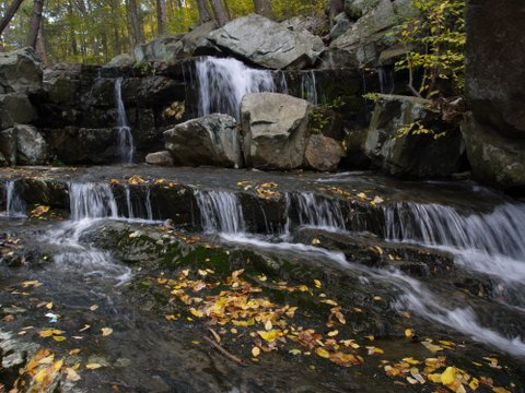 Mineral Spring Falls, Black Rock Forest, Orange County, New York