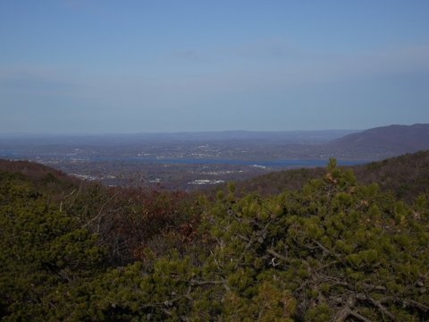 Scenic view from Long Path, Schunemunk Mountain State Park, Orange County, NY