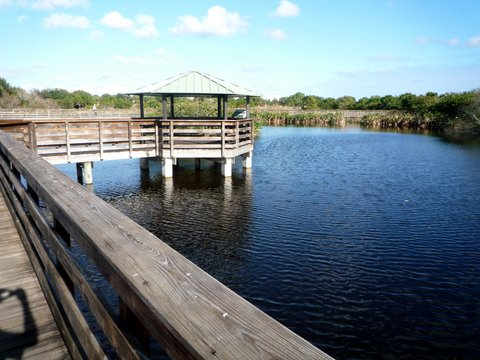 Boardwalk, Wakodahatchee Wetlands, Palm Beach County, Florida