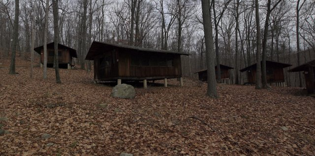 Cabins, Mountain Lakes Park, Westchester County, NY