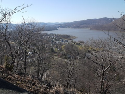 Nelsonville, as seen from Washburn Trail, Hudson Highlands State Park, NY
