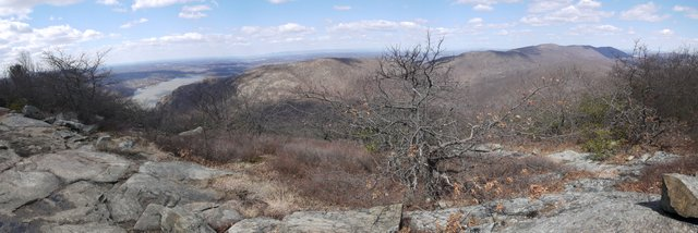 View from Bull Hill (Mt. Taurus), Hudson Highlands State Park, NY