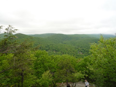 Scenic view, Bear Mountain State Park, NY