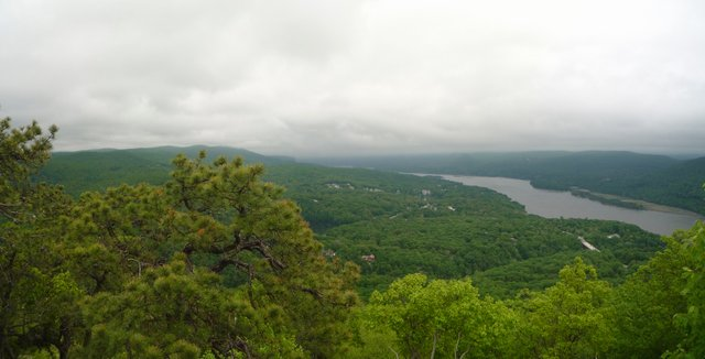 Panoramic view, Bear Mountain State Park, NY