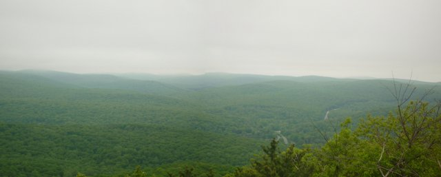 View from Top of Bear Mountain, NY