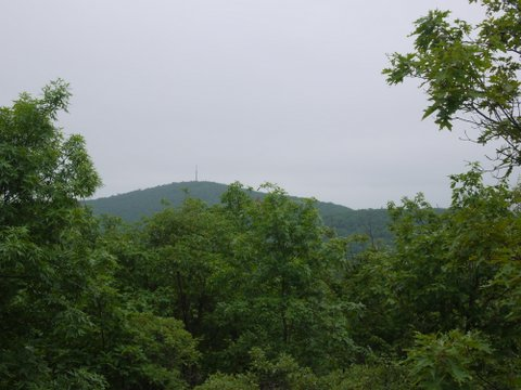 View of Harriman State Park, Seen from Sterling Forest State Park, NY