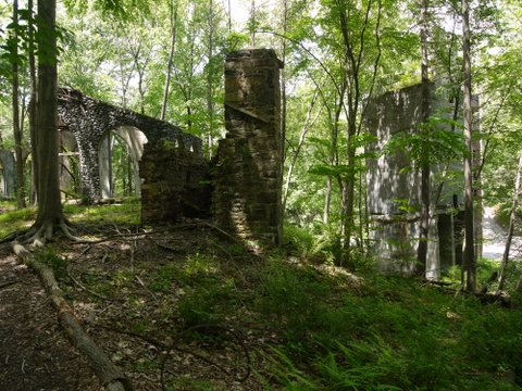 Ironworks Structures, Lakeville-Ironworks Trail, Sterling Forest State Park, NY