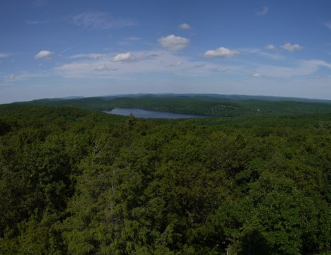 View from fire tower, Sterling Forest State Park, NY