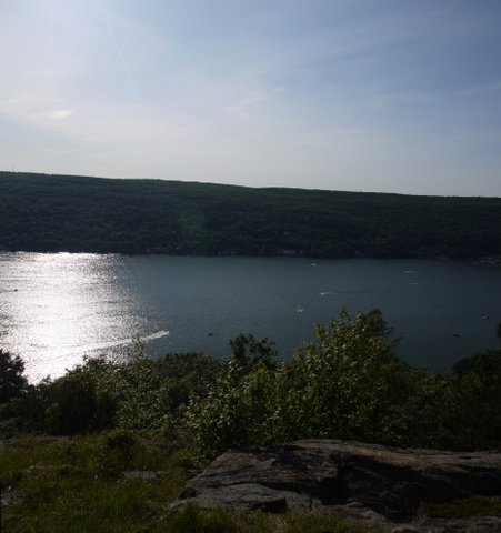 Greenwood Lake, from Bare Rock, Sterling Forest State Park, NY