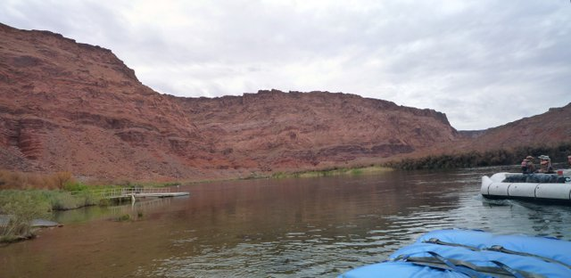 Leaving Lee's Ferry, Colorado River, Grand Canyon
