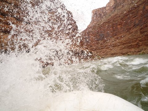 Whitewater rafting, Colorado River, Grand Canyon