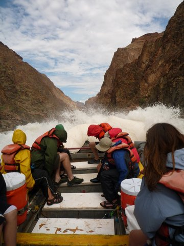 Sockdolager Rapid, Mile 79, Colorado River, Grand Canyon