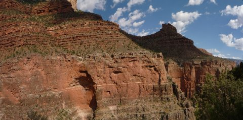 Scenery from Bright Angel Trail, Grand Canyon