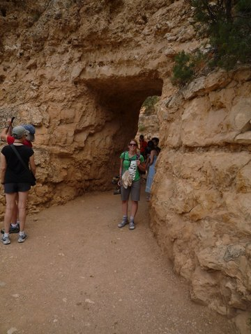 First Tunnel, Bright Angel Trail, Grand Canyon