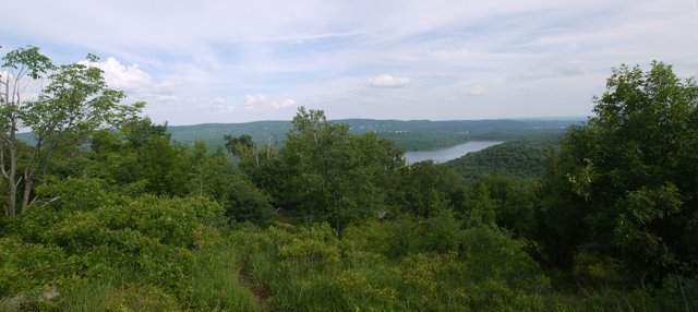 View from Bear Mountain, North Jersey District Water Supply Commission, NJ