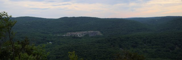 View from Windbeam Mountain, North Jersey District Water Supply Commission, NJ