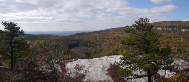 View from Gertrude's Nose Trail, Minnewaska State Park Preserve, NY