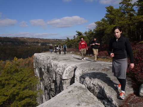 Sheer Cliff, Gertrude's Nose Trail, Minnewaska State Park Preserve, NY