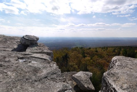 Scenic View from Gertrude's Nose Trail, Minnewaska State Park Preserve, NY