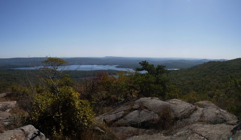 Wanaque Reservoir, from Wyanokie High Point, Norvin Green State Forest, NJ