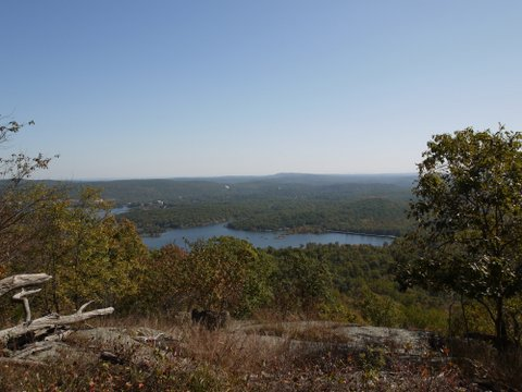 Wannaque Reservoir from Yellow Trail, Norvin Green State Forest, NJ