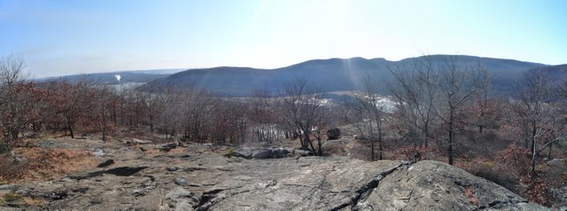 Scenic View from Camp Smith Trail, Hudson Highlands State Park, NY
